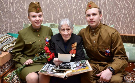 День Победы, ветеран, волонтеры