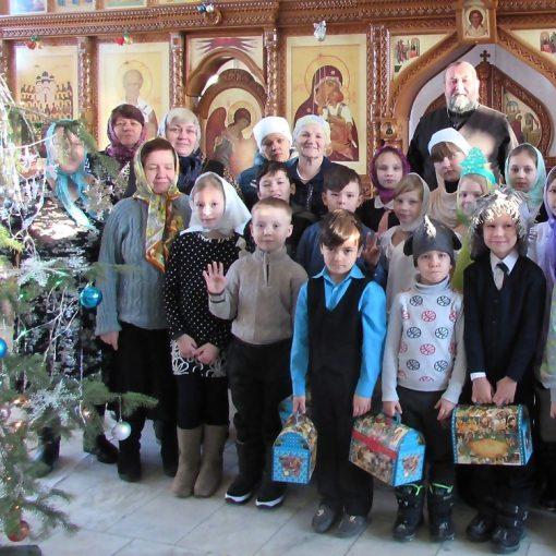 рождество, воскресная школа