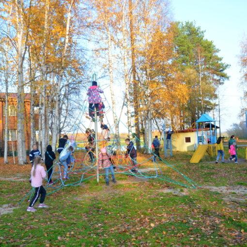осень, школа, дети, туризм