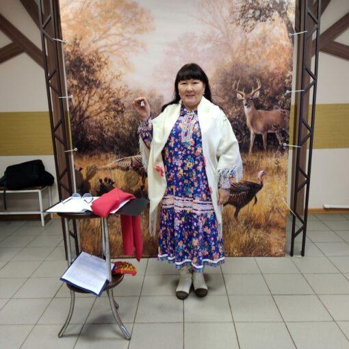 Галина Павловна Лаптева, писатель, ханты, КМНС, северные народы