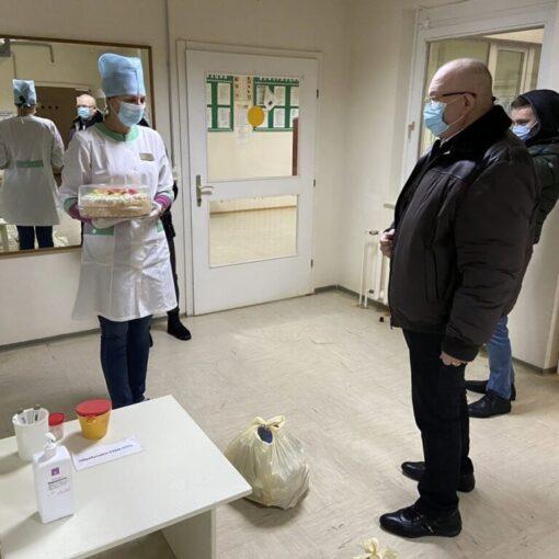 Владимир Семенов, больницв, амбулатория