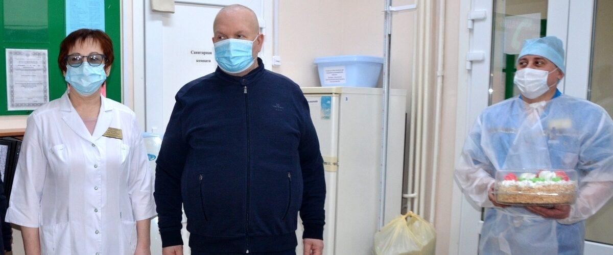 Владимир Семенов, больница, медицина