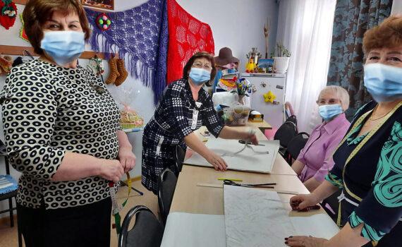 проект, СП, мастер-класс, серебрянные волонтёры