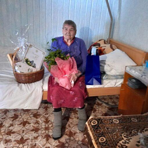 Раиса Ивановна Лесникова, ветеран, проект, поздравление