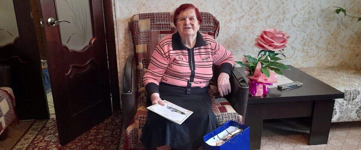 Мария Михайловна Протопопова, акция, поздравление