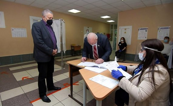 Владимир Семенов, Николай Цыбулько, выборы